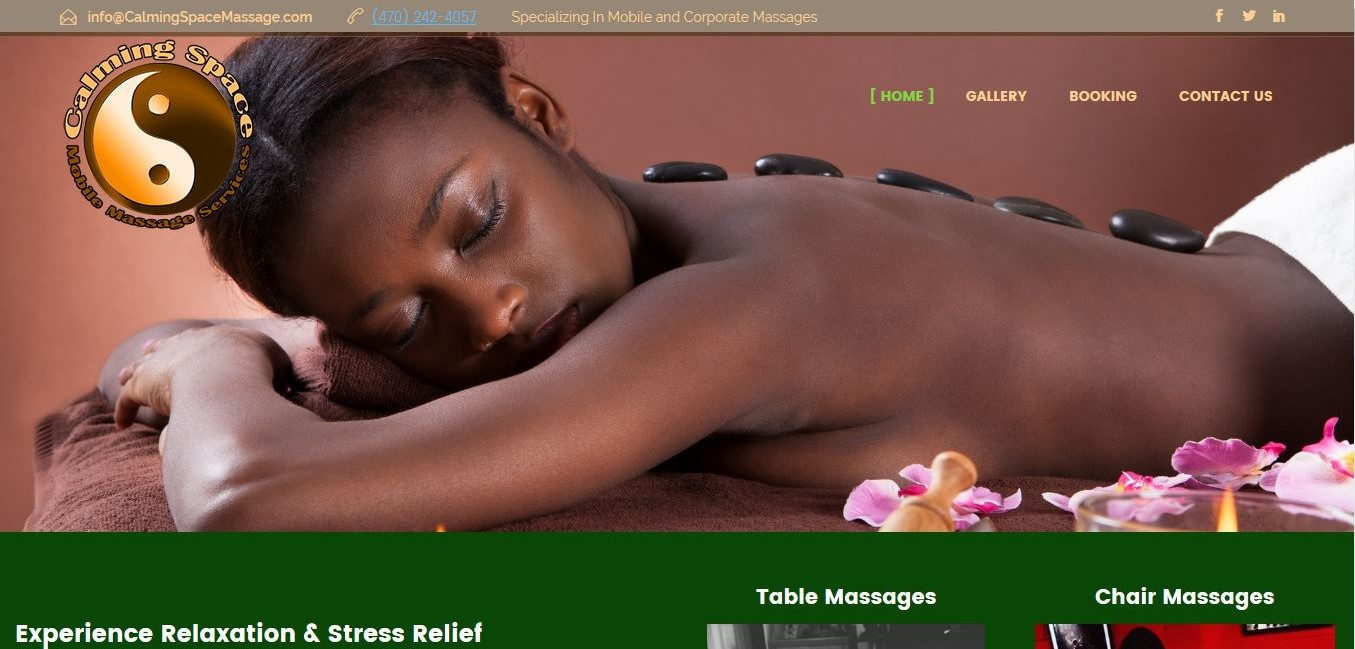Calming Space Massage